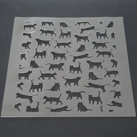 Cat Scatter Cookie Stencil - just-little-luxuries