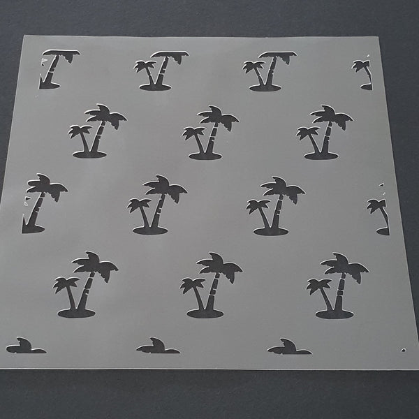 Palm Trees Cookie Stencil - just-little-luxuries
