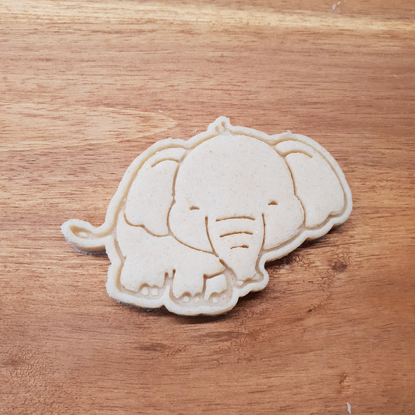 Elephant cookie cutter and stamper. - just-little-luxuries