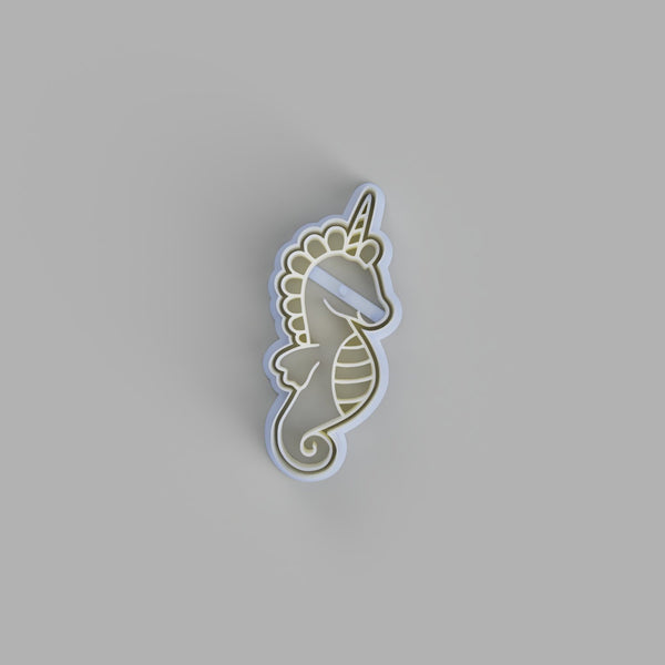 Seahorse Unicorn Cookie cutter - just-little-luxuries
