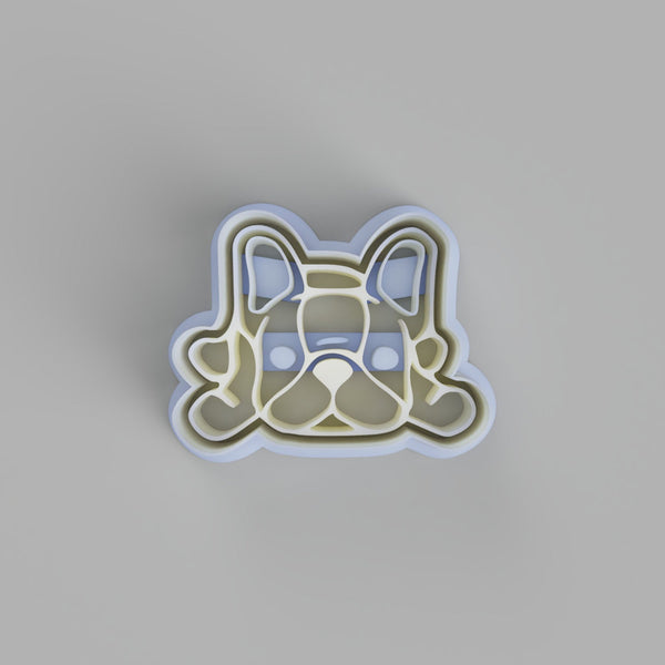 French Bulldog Laying Cookie Cutter - just-little-luxuries