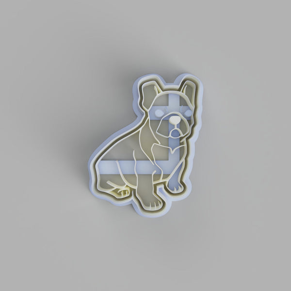 French Bulldog Sitting Cookie Cutter - just-little-luxuries