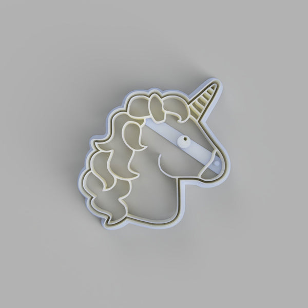 Unicorn Face Cookie Cutter - just-little-luxuries
