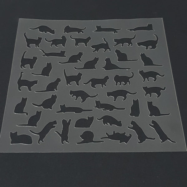 Cat Cookie Stencil - just-little-luxuries
