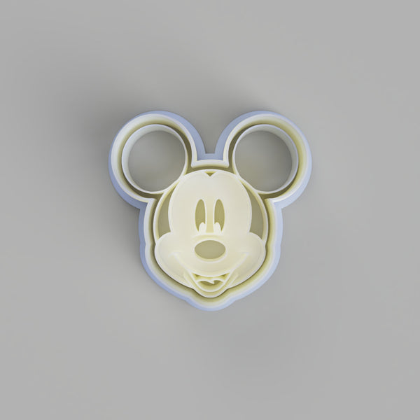 Mickey Mouse Face Cookie Cutter - just-little-luxuries