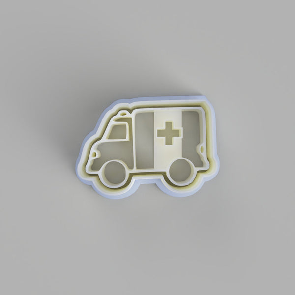 Ambulance Cookie Cutter - just-little-luxuries