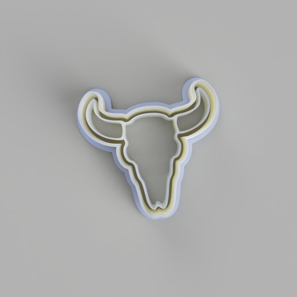 Bull Skull Cookie cutter. - just-little-luxuries