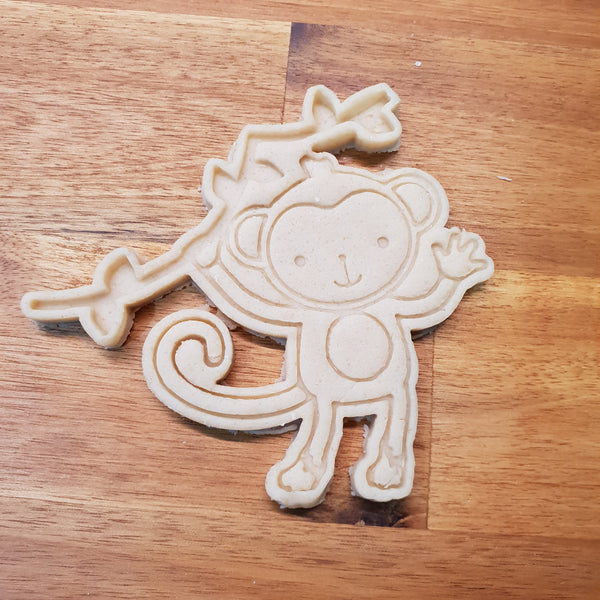 Monkey cookie cutter and stamper - just-little-luxuries