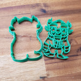 Chibi Beast Cookie Cutter and stamp - just-little-luxuries
