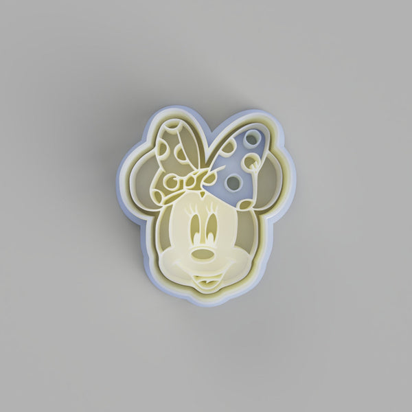 Minnie Mouse Face Cookie Cutter - just-little-luxuries