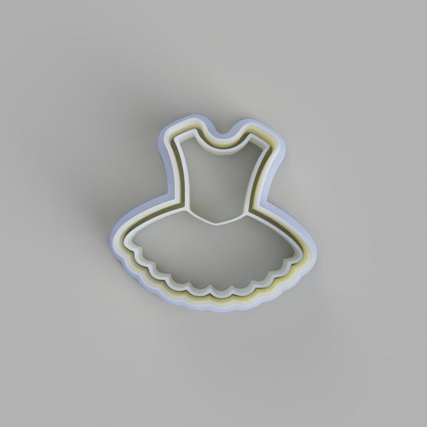 Ballet Dress Cookie cutter. - just-little-luxuries