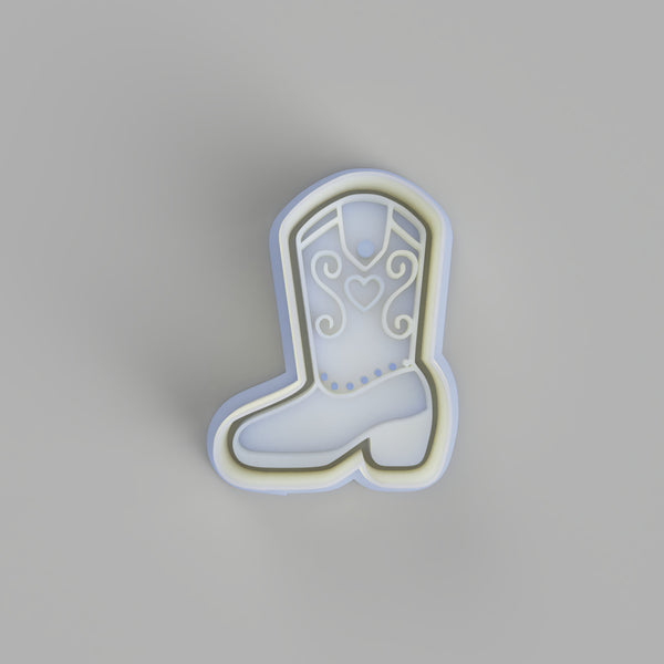 Cowgirl Boots 2 Cookie cutter. - just-little-luxuries