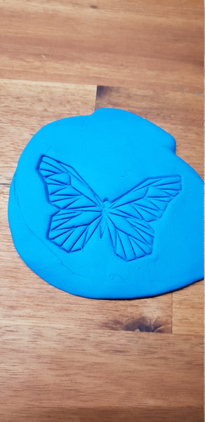 Geometric Butterfly Cookie Embosser - just-little-luxuries