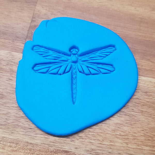 Geometric dragonfly Cookie Embosser - just-little-luxuries