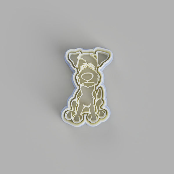 Parson Jack russel terrier dog cookie cutter - just-little-luxuries