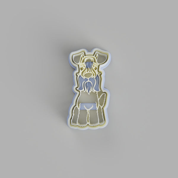 Kerry Blue Terrier Dog cookie cutter - just-little-luxuries
