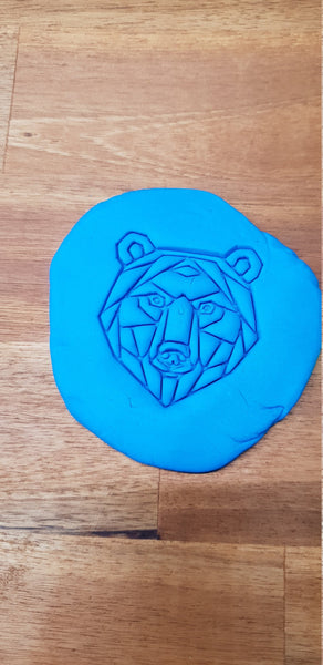 Geometric Bear Cookie Embosser - just-little-luxuries