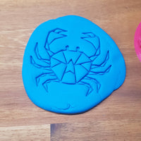 Geometric Crab Cookie Embosser - just-little-luxuries