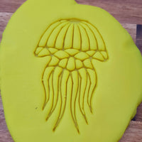 Geometric jellyfish Cookie Embosser - just-little-luxuries