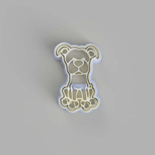 American Staffy Dog cookie cutter - just-little-luxuries