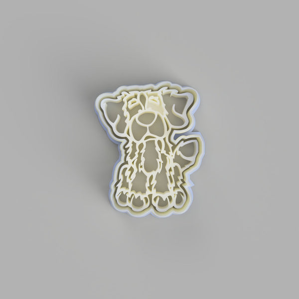 Bernese Mountain Dog Cookie Cutter and Embosser - just-little-luxuries