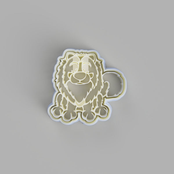 Keeshond Dog cookie cutter - just-little-luxuries