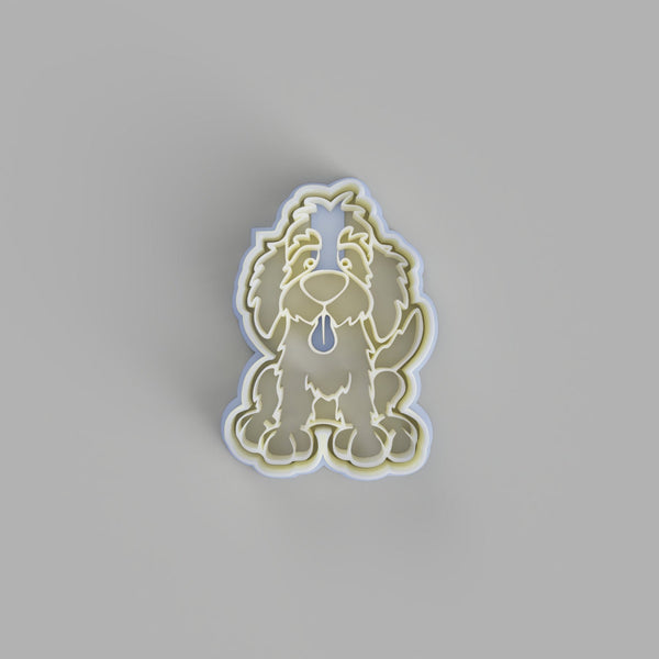 Labradoodle Dog cookie cutter - just-little-luxuries