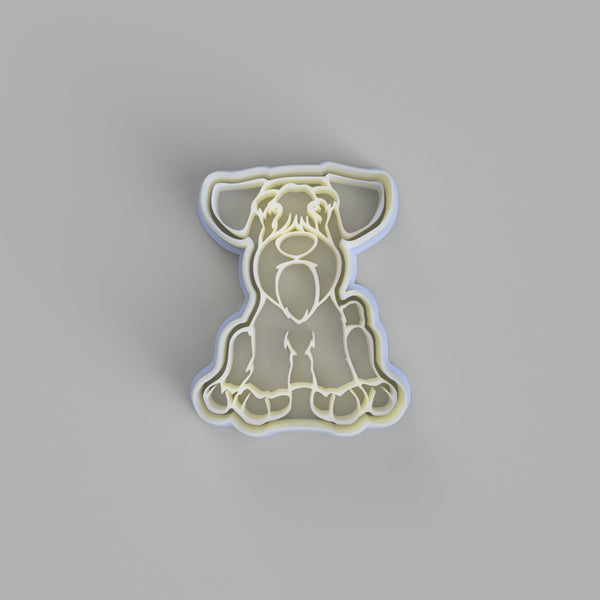 Sealyham Terrier Cookie Cutter and Embosser - just-little-luxuries