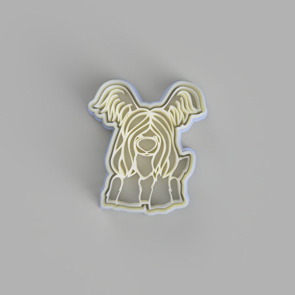 Skye Terrier Cookie Cutter and Embosser - just-little-luxuries