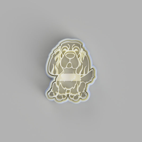 Sussex Spaniel Cookie Cutter and Embosser - just-little-luxuries