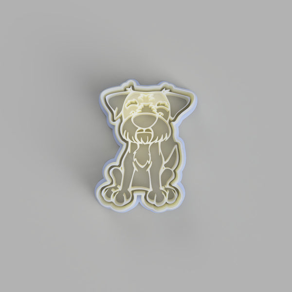 Border Terrier Cookie Cutter - just-little-luxuries