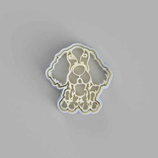 Cavalier King Charles Spaniel Cookie Cutter and Embosser - just-little-luxuries