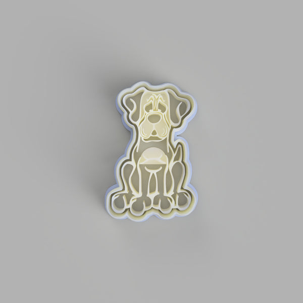 Mastiff Dog cookie cutter - just-little-luxuries