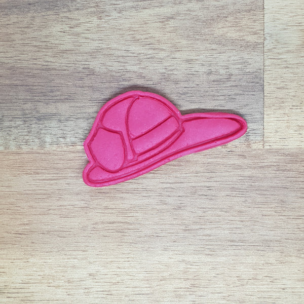 Fireman's Helmet  Cookie cutter and embosser