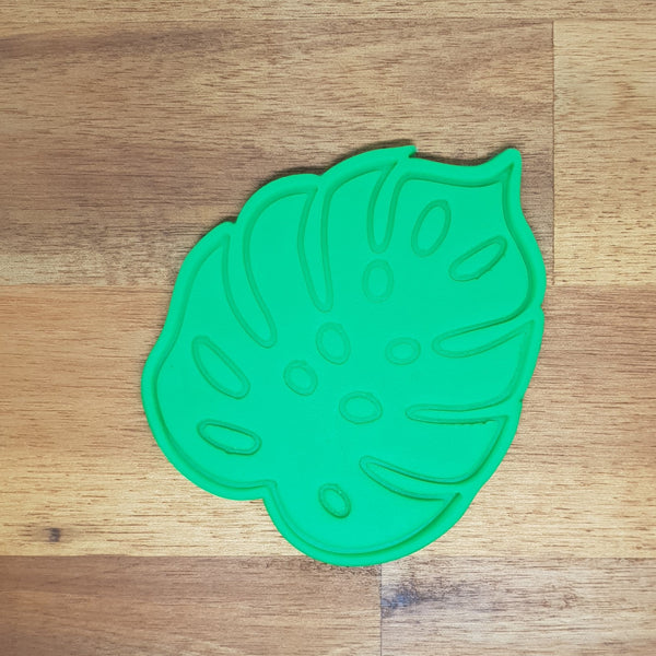 Monstera Leaf Cookie Cutter and Embosser - just-little-luxuries