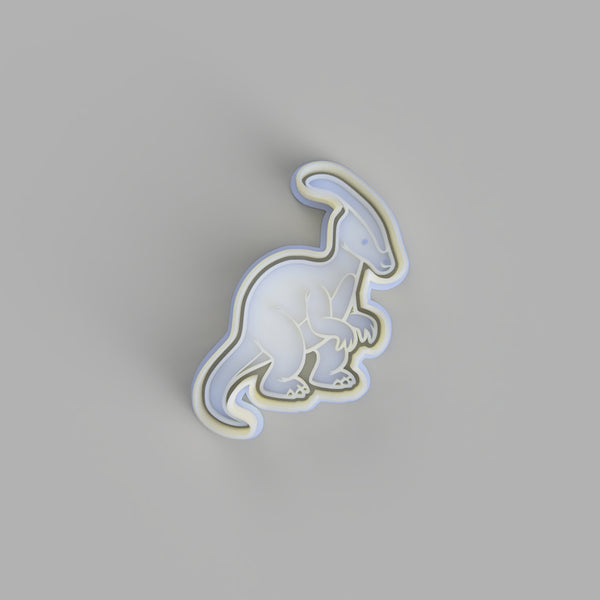Parasaurolophus - Dinosaur Cookie Cutter and Embosser.
