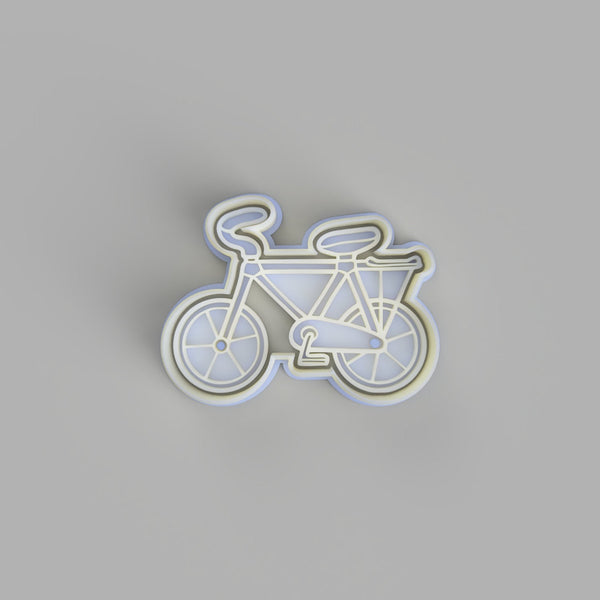 Bicycle (2) Bike Cookie Cutter and Embosser