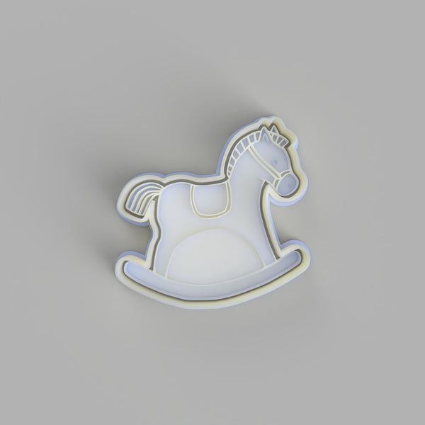 Rocking Horse (2) Cookie Cutter and Embosser