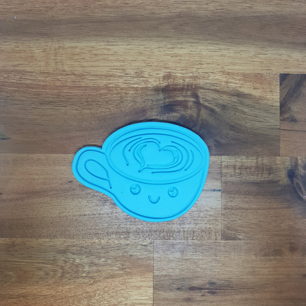 Latte - Kawaii Food Cookie Cutter and Embosser. - just-little-luxuries