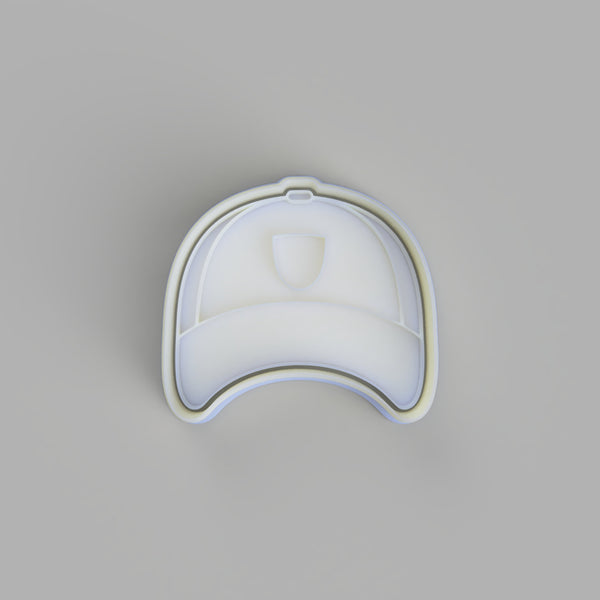 Baseball Cap Cookie Cutter and Embosser. - just-little-luxuries