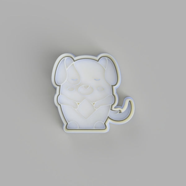 Chinese Horoscope/Zodiac Dog Cookie Cutter and Embosser. - just-little-luxuries