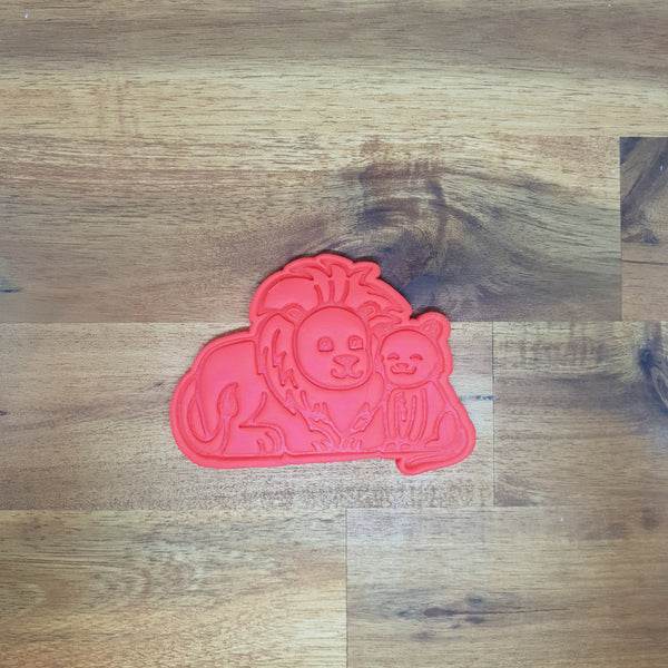 Father's Day - Lion Cookie Cutter and Embosser.