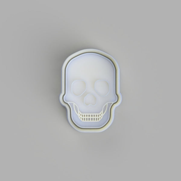 Skull (2) - Tattoo Style Cookie Cutter and Embosser