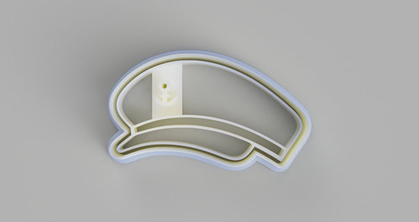 Captains Hat Cookie Cutter and Embosser - just-little-luxuries