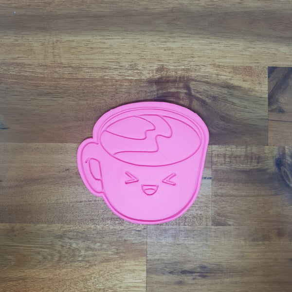 Coffee - Kawaii Food Cookie Cutter and Embosser. - just-little-luxuries