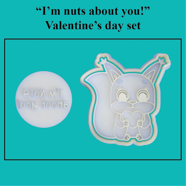 "I'm nuts about you!"" Valentine's Day Set - just-little-luxuries"
