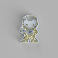 Iron Suit Super Hero Cookie Cutter - just-little-luxuries