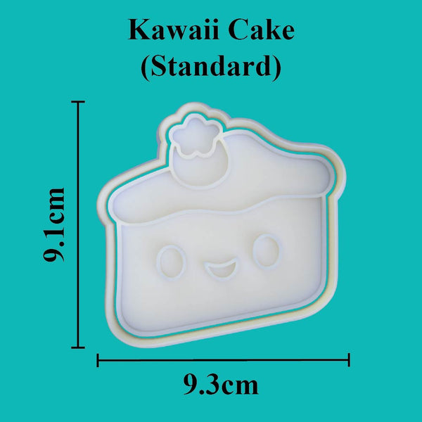 Kawaii Cake Cookie Cutter - just-little-luxuries