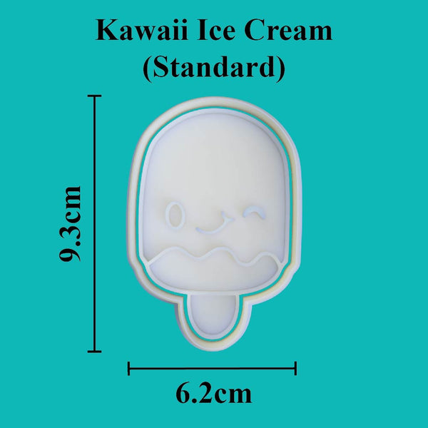 Kawaii Ice Cream Cookie Cutter - just-little-luxuries
