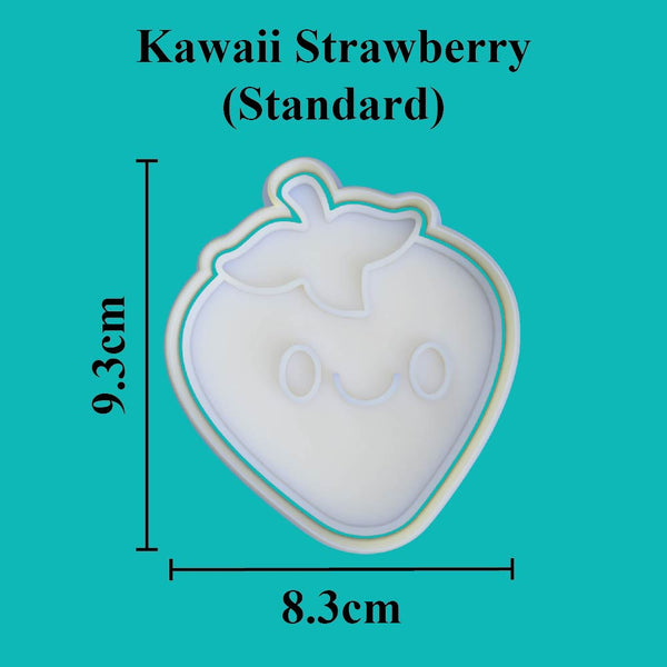 Kawaii Strawberry Cookie Cutter - just-little-luxuries